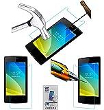 Acm Tempered Glass Screenguard for Intex Cloud C1 Mobile Screen Guard Scratch Protector