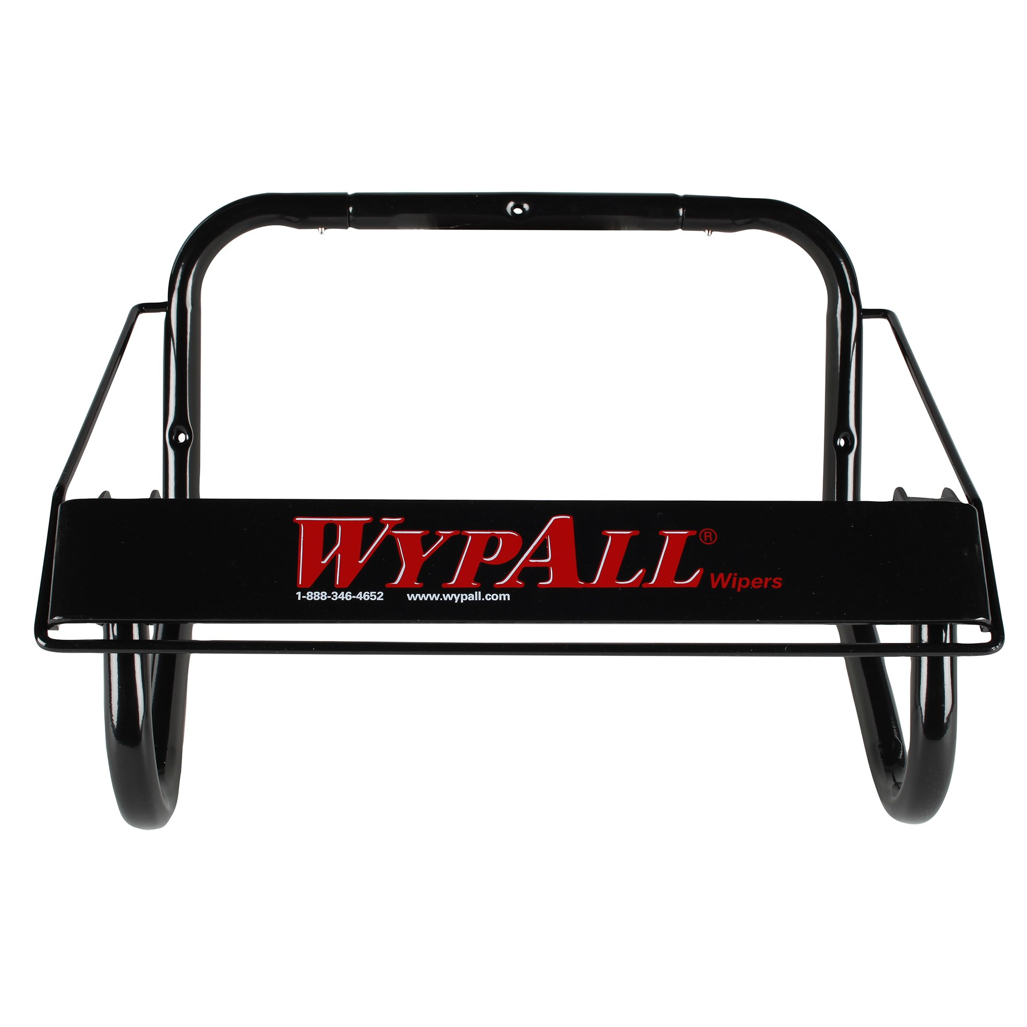 Wall Mounted Dispenser for Wypall and Kimtech Wipes (80579), Jumbo Roll, Black