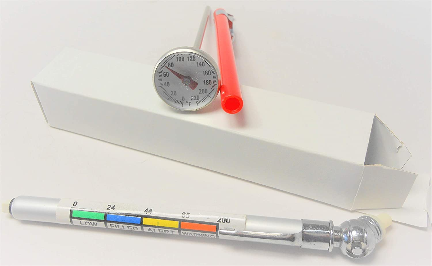 Automotive A//C Test Thermometer for R-12 and R-134a Refrigerant