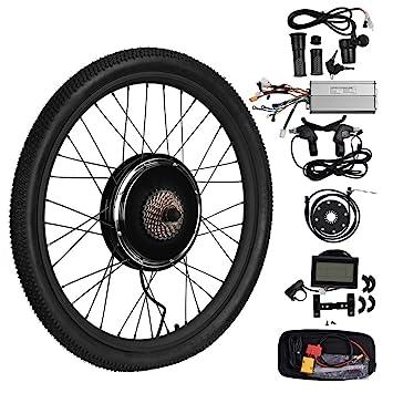 """Vogvigo 26"""" 36V 1000W Rueda Trasera Hub Motocicleta Bicicleta electrica DIY Kit de conversión con"""