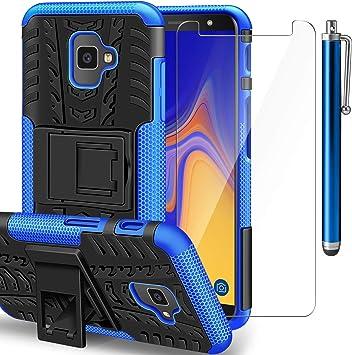 AROYI Funda Samsung Galaxy J4 Plus + Protector de Pantalla, Galaxy ...