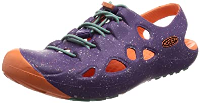 KEEN Rio Sandal (Toddler), Purple Heart/Fusion Coral, 4 M US