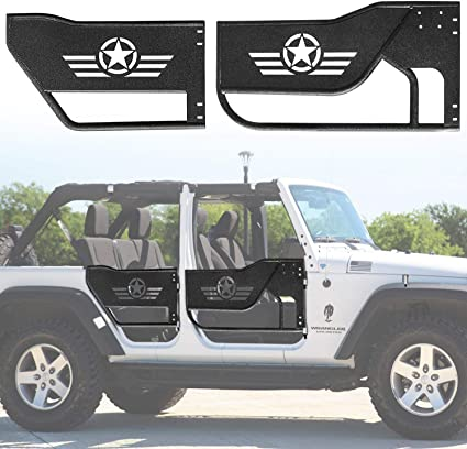 SIDE AND REAR BODY LIFT HANDLE SET READY TO PAINT FOR FORD JEEP WILLYS NEW BRAND