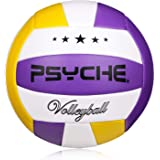 Wisdom Leaves Volleyball Official Size 5,Soft Indoor Outdoor Volleyballs for Kids/Adults Gym Beach Games Play