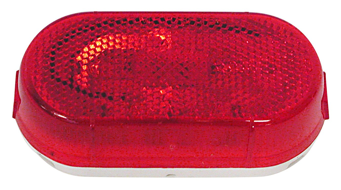 Peterson Manufacturing 108WR Red Clearance//Side Marker Light with Reflex Reflector PM108