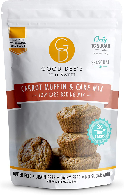 Good Dees Cookie Mix Muffin de zanahoria y mezcla para pastel ...