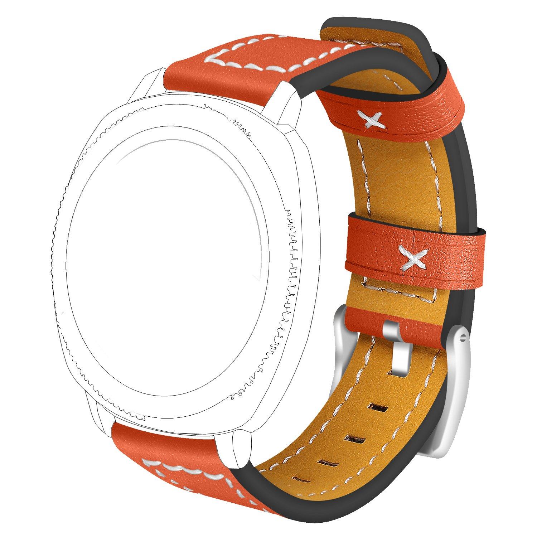 Bandas de 20 mm para moto 360 2 nd Gen para hombre 42 mm reloj ...