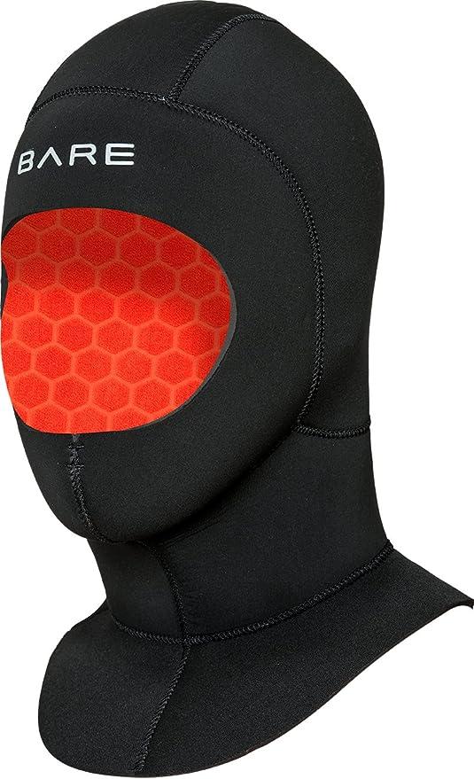 Bare Elastek Wet Hood 5mm Kopfhaube Black
