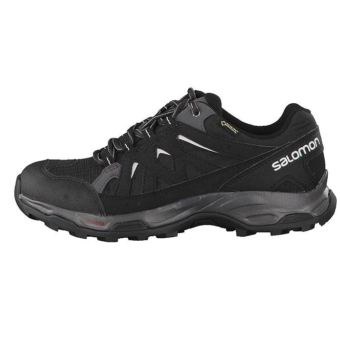 Salomon Effect GTX W, Zapatillas de Senderismo para Mujer, Gris (Phantom/Black/Dawn Blue 000), 42 2/3 EU: Amazon.es: Zapatos y complementos