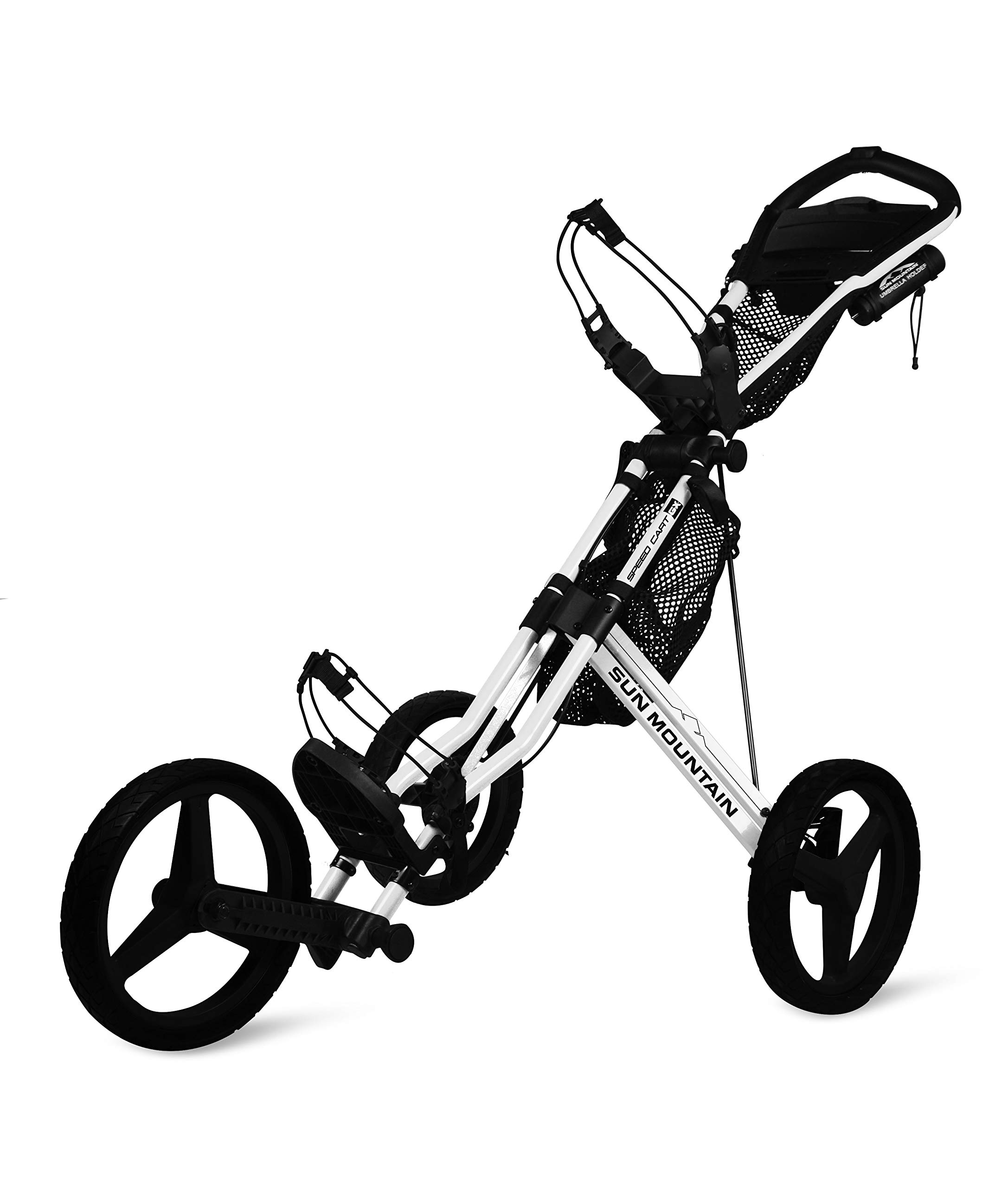 Sun Mountain Speed Cart Gx Push Cart White/Black