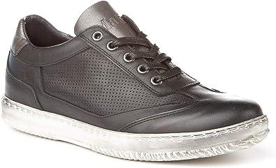 Zapatillas Deportivas para Hombre. Fabricadas en Piel. Hecho en ...