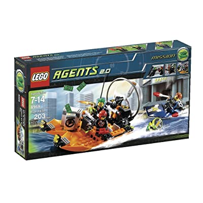 LEGO Agents River Heist (8968): Toys & Games