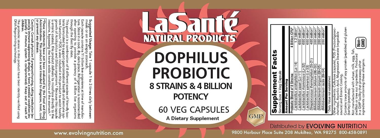 Amazon.com: Premier Dophilus Probiótico mezcla 8 cepas 4 ...