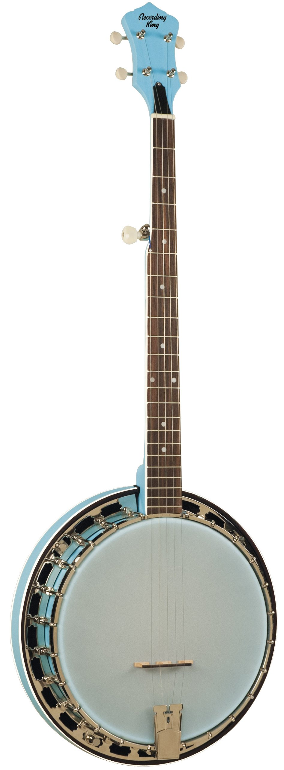 Recording King RKS-06-LBL Starlight Series Resonator Banjo, Sky