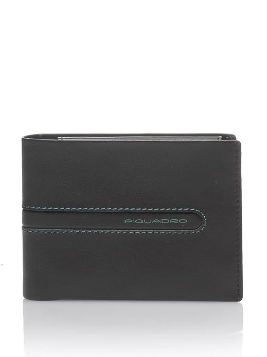 e6c230fec3b834 Piquadro Portafoglio Marrone Unica: Amazon.it: Scarpe e borse