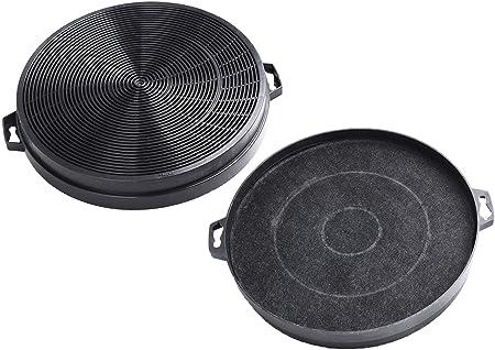 AquaHouse 2 filtros de carbón para campana de cocina compatibles con B&Q/ Cata/Designair/Cooke & Lewis/Airlux Extractor Hood (CHF02): Amazon.es: Hogar