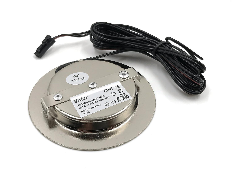Super LED Einbauleuchten flach Möbelleuchten Einbaustrahler SLIM 3W HIGH VA16