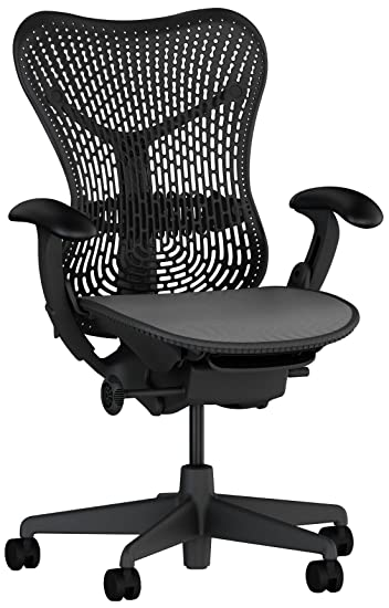 Herman Miller Mirra® Chair; Fully Loaded; Color: Graphite
