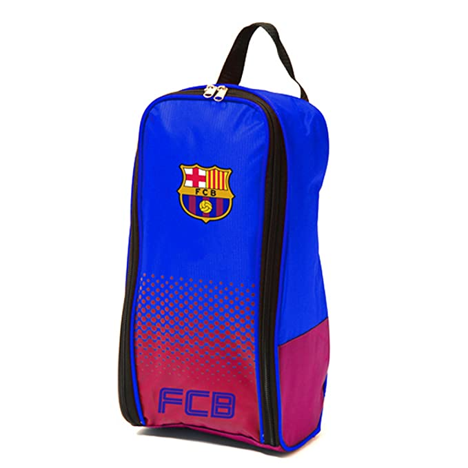 9207814e618 FC Barcelona Official Fade Football Soccer Crest Shoe Boot Bag (One Size)