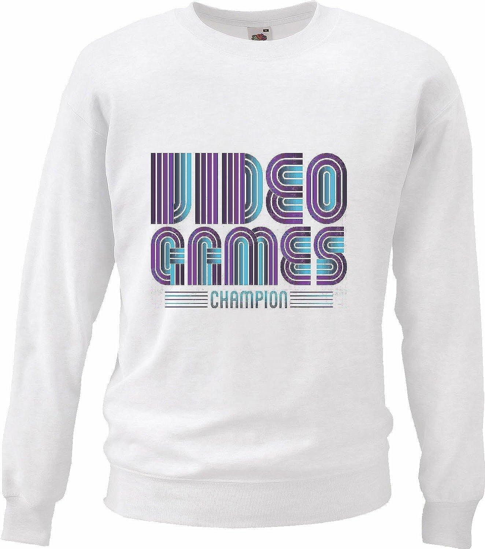 Sudaderas Suéter LANPARTY Videojuegos Liga CAMPEONES Juegos de vídeo Friki LANParty Videojuegos Liga Juegos de vídeo Friki en Blanco: Amazon.es: Ropa y ...