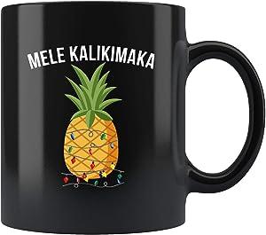Hawaiian Christmas Gift, Hawaiian Christmas Mug, Hawaiian Gift, Hawaiian Mug, Hawaiian X-mas Mug, Mele Kalikimaka Mug, Mele Kalikimaka 11oz