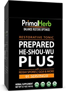 product image for Organic He Shou Wu Fo Ti 30:1 Extract Powder 91 Servings Aged Roots Primal Herb
