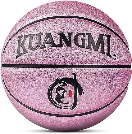Kuangmi - Balón de Baloncesto (Talla 5), Color Morado: Amazon.es ...