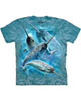 Mountain Narwhals Adult Size T-shirt
