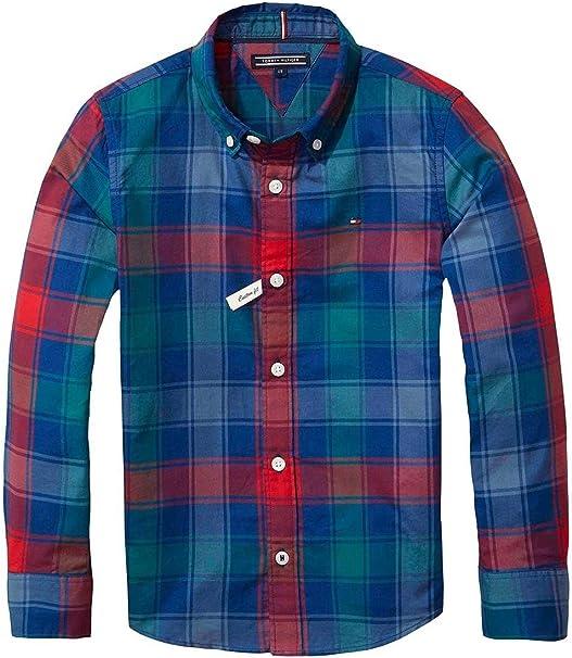 Tommy Hilfiger Camisa Check Multicolor 10 Multicolor: Amazon.es: Ropa y accesorios