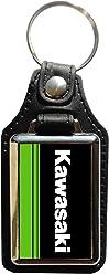 Schlüsselanhänger Kunstleder Kawasaki 2