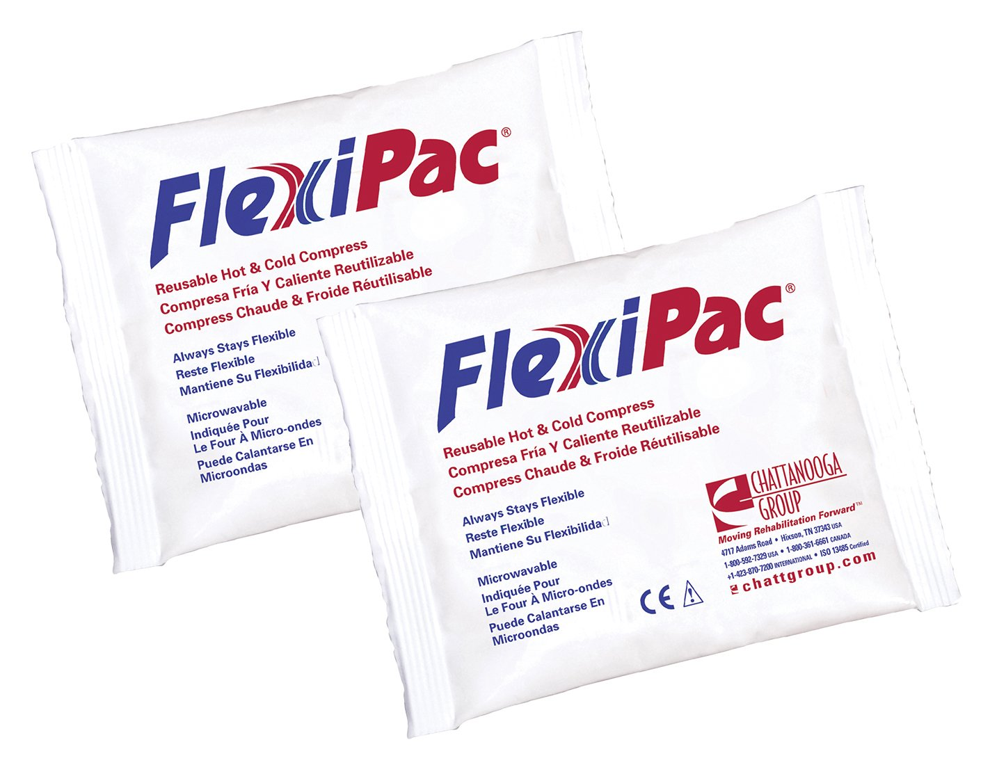 Amazon.com: Flexi-PAC Reusable Hot/ Cold Compress Pack, 5 x ...