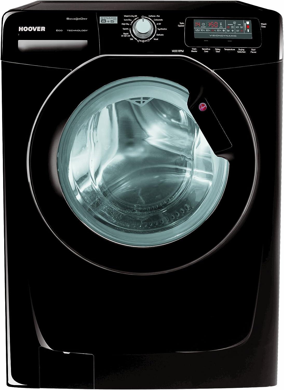 Hoover WDYN 854DB Independiente Carga frontal B Negro lavadora ...