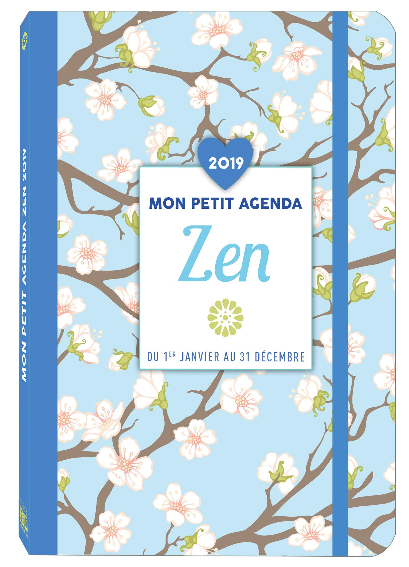 Mon petit agenda Zen 2019: 9782377611249: Amazon.com: Books
