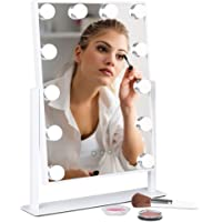 Deals on BCP Hollywood Makeup Vanity Mirror w/ Smart Touch 12 LED