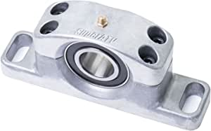 SuperATV Heavy Duty Cast Aluminum Carrier Bearing for Polaris RZR XP 1000 / XP 4 1000 (2014+) - Greaseable and Self Aligning!