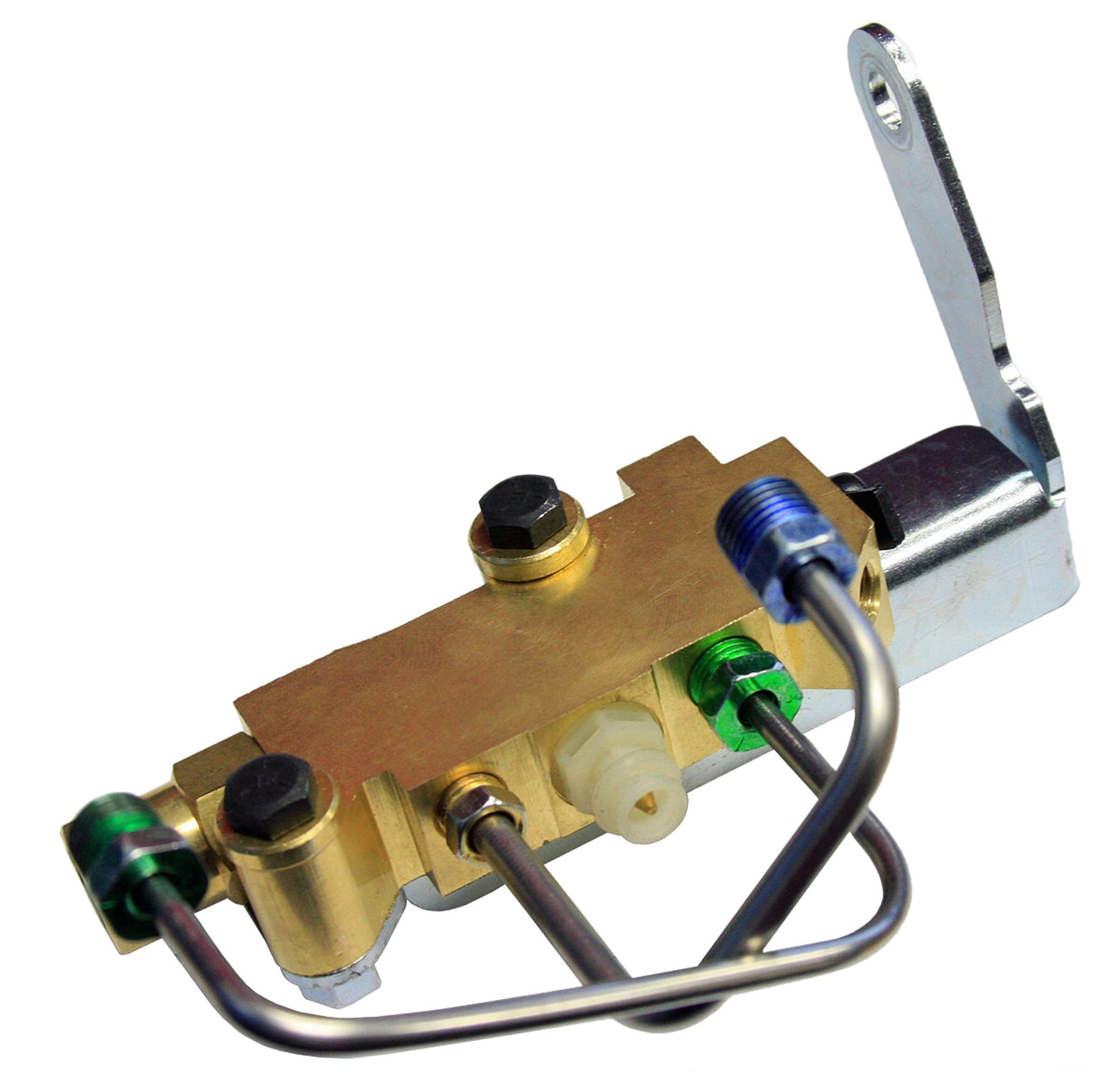 (E-6-8) Inline Tube Proportioning Valve, Bracket, and Lines Compatible with 1955-72 GM Front Disc Brake Conversion by Inline Tube