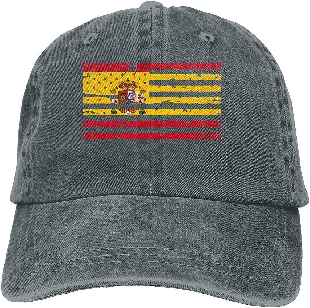 wwoman Gorras de béisbol de Mezclilla de algodón Ajustables Unisex Gorra de Camionero con Bandera Americana de España: Amazon.es: Ropa y accesorios