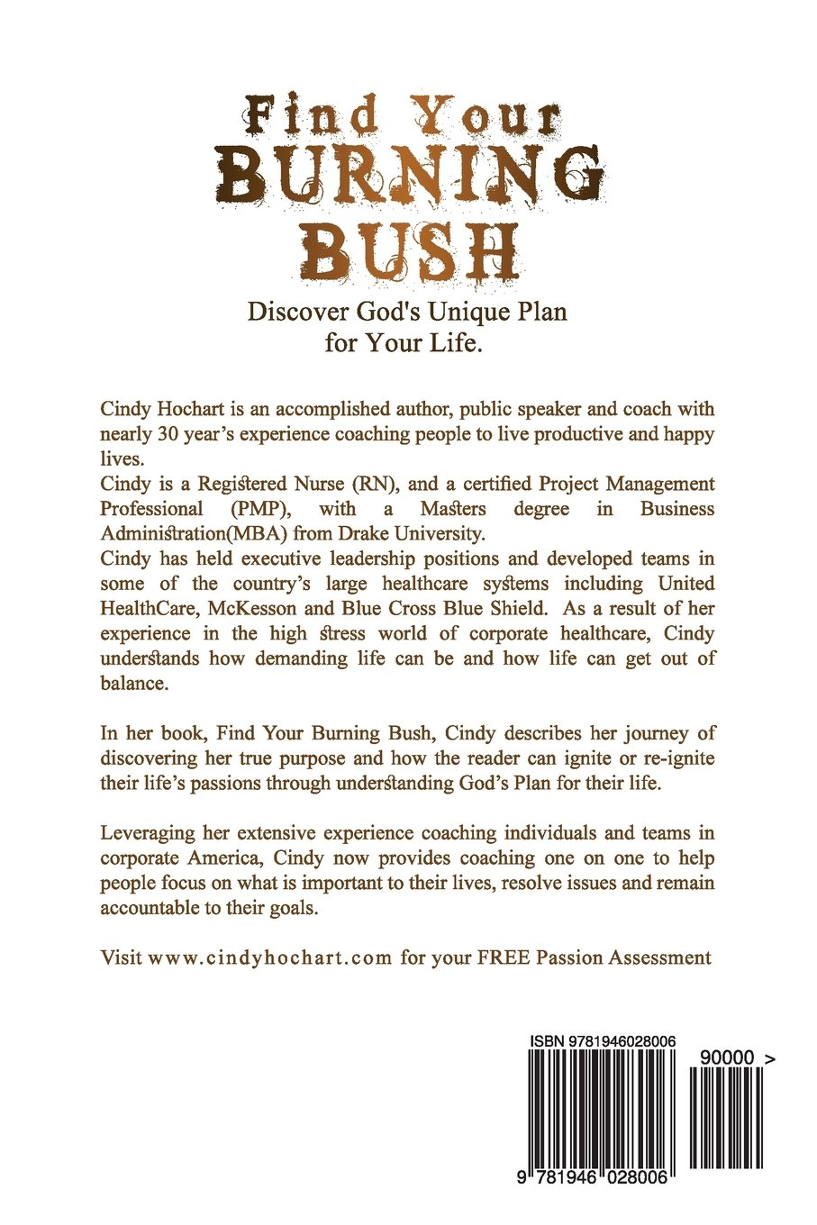 find your burning bush discover god u0027s plan for your unique life