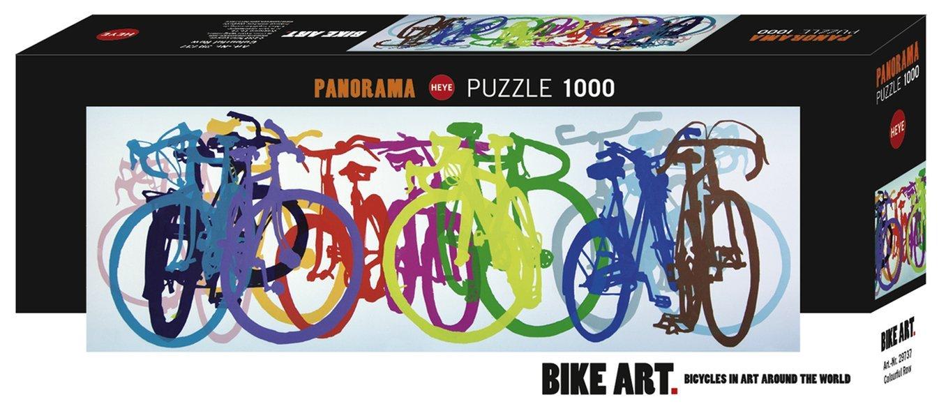 Heye Pieces Vertical Puzzles 1000-Piece, Multi-Colour
