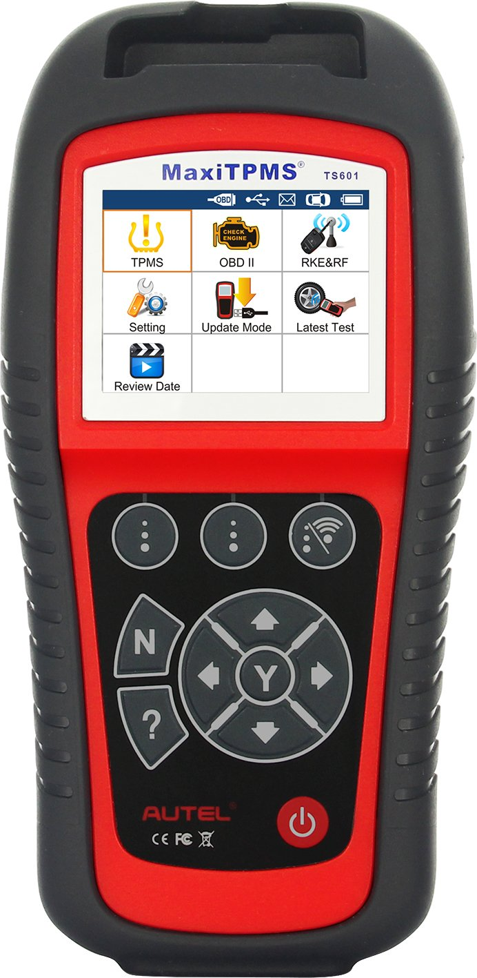 Autel MaxiTPMS TS601 TPMS Tool - Wireless TPMS Sensor Reset Relearn Activate Programming Tool with OBD2 Code Reader Function