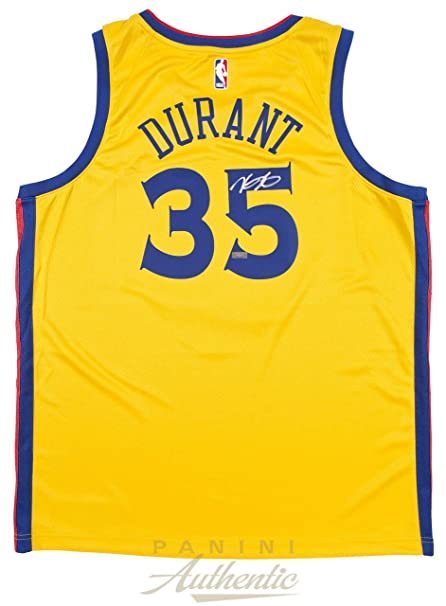 classic fit 2243e 9f995 Amazon.com: KEVIN DURANT Autographed Golden State Warriors ...