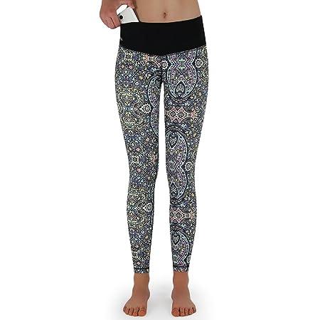 Damen Yoga-Leggings mit Tasche