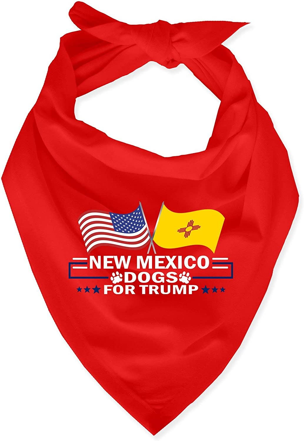 Republican Dogs 50 States for Trump Dog Bandana All 50 States Available One Size Fits All Cotton Polyester Fiber