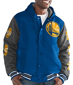 "Golden State Warriors Nba G-III ""de arriba latón"" Hombre Premium Varsity"