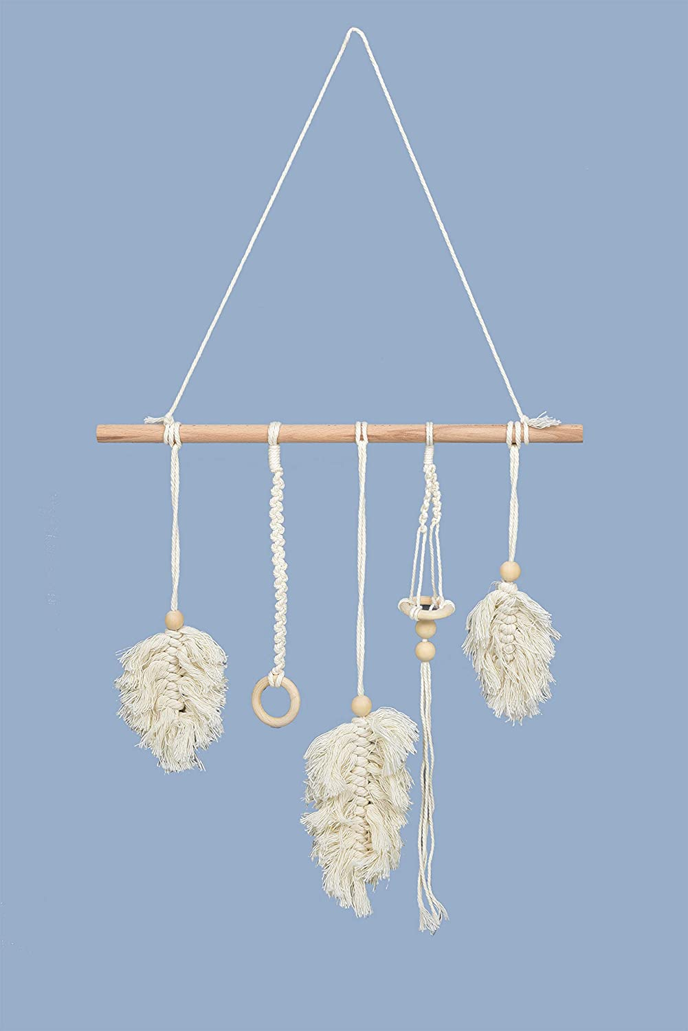 LSKYTOP Leaf Macrame Wall Hanging Ornaments 26