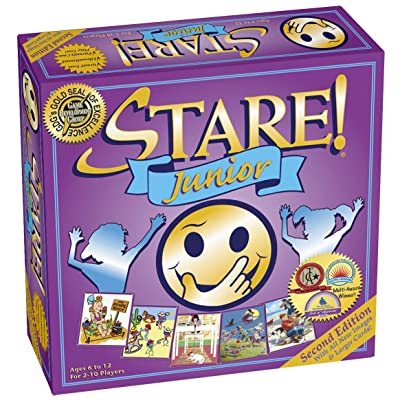 Stare Junior Board Game For Kids - 2nd Edition for Ages 6-12: Toys & Games