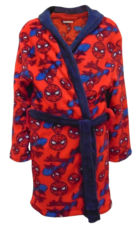 Hunter Price Spiderman Fleece Feel Boys Dressing Gown