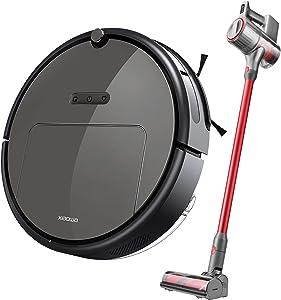 E35 Robot Vacuum Cleaner and H6 Cordless Vacuum