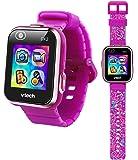 VTech Kidizoom DX2 Smartwatch with Bonus Wristband, Vivid Violet