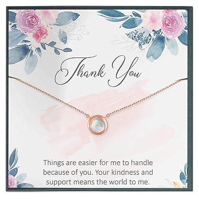 Amazon.com: Grace of Pearl Regalo de agradecimiento ...